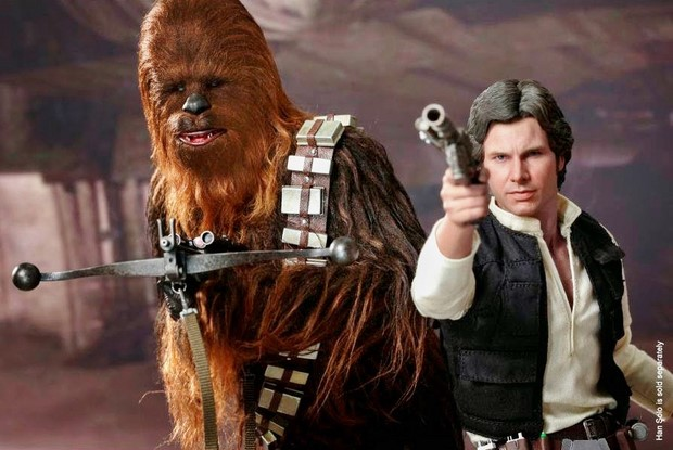 Star Wars nuova action figure Hot Toys di Chewbacca (12)
