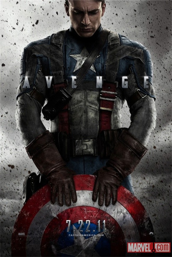 Captain America: The First Avenger - primo poster ufficiale