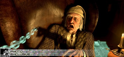 Ecco Jim Carrey in A Christmas Carol