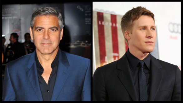 George Clooney e Dustin Lance Black