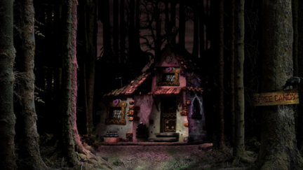 Hansel and Gretel in 3D: primo poster