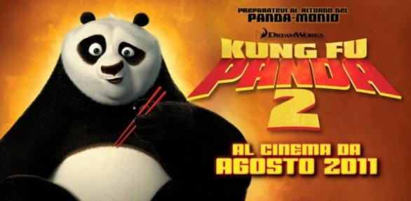 Kung Fu Panda 2 imbattibile al botteghino italiano
