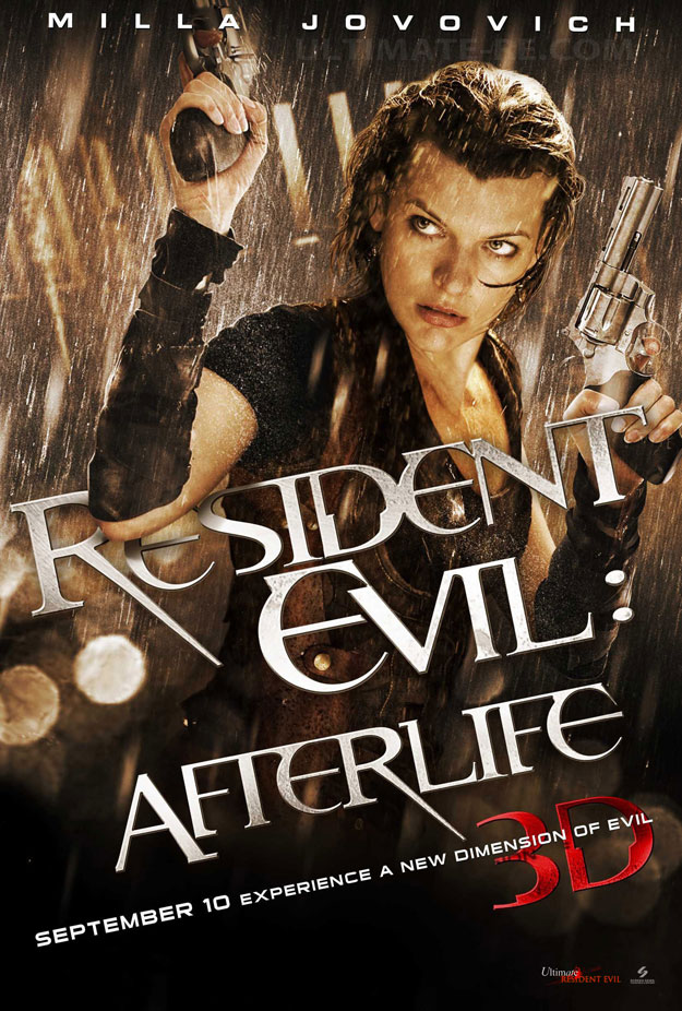 Nuovo poster per Resident Evil: Afterlife
