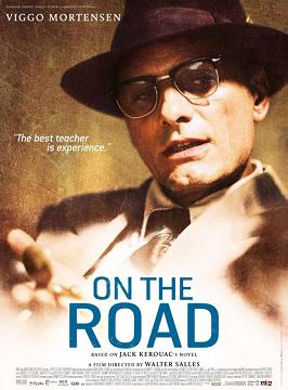 """On the Road: character poster con Viggo """"Old Bull Lee"""" Mortensen"""