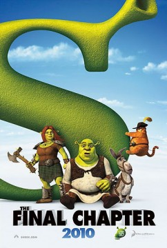 Primo poster per Shrek 4 - The Final Chapter