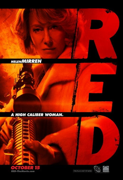 RED character poster