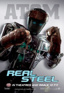 Real Steel: 4 character poster