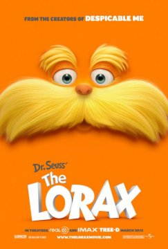The Lorax: primo poster