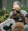 Angelina Jolie sul set di The Changeling
