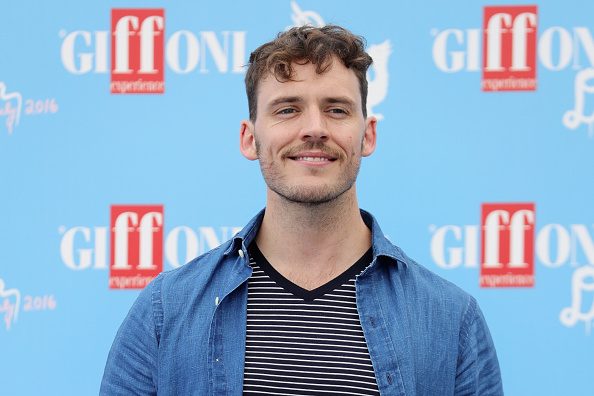 GIFFONI VALLE PIANA, ITALY - JULY 21: Actor Sam Claflin attends the Giffoni Film Festival Day 7 blue photocall on July 21, 2016 in Giffoni Valle Piana, Italy. (Photo by Stefania D'Alessandro/Getty Images for Giffoni Film Festival)