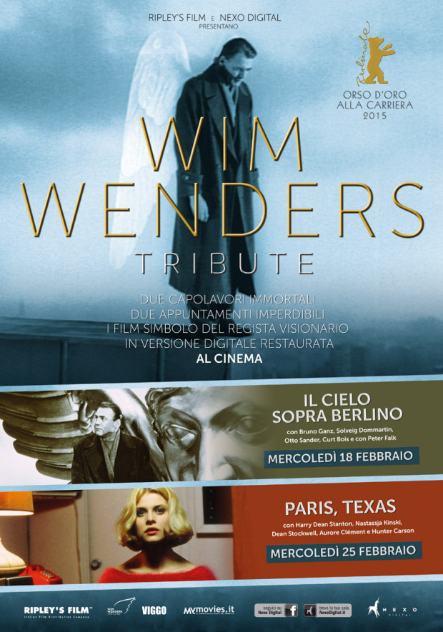 Wim Wenders Tribute - POSTER