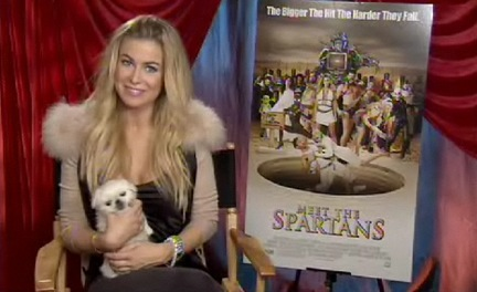 carmen electra meet the spartans