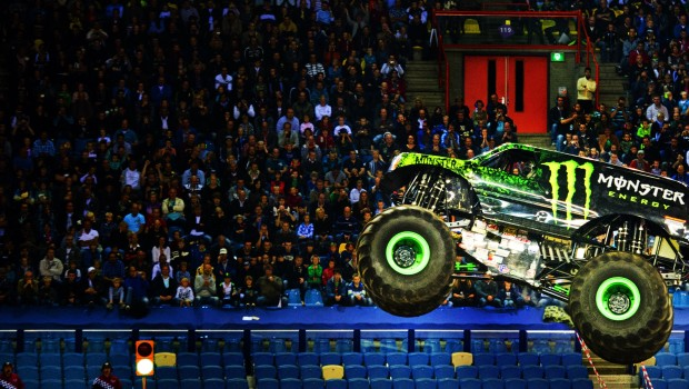 NETHERLANDS-ARNEHM-MONSTER-JAM-TRUCKS