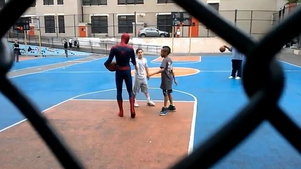 The Amazing Spider-Man 2  Andrew Garfield video backstage