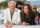 Clint Eastwood e Angelina Jolie con pancione, Photocall Changeling al 61° Cannes, 20 mag 2008