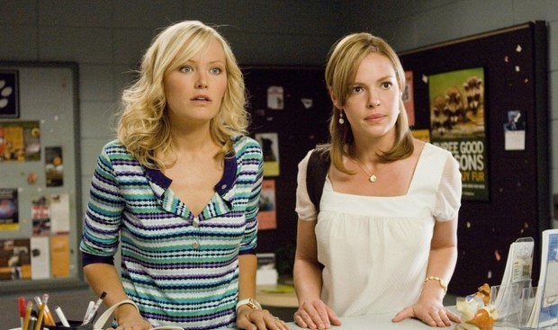 Stasera in tv su Canale 5 27 volte in bianco con Katherine Heigl (2)