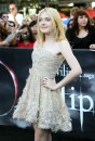 Dakota Fanning, premiere The Twilight Saga – Eclipse, dirante il Los Angeles Film Festival, 24 giu 2010