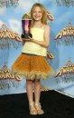 Dakota Fanning vince Most Frightened Performance agli MTV Movie Awards per Hide and Seek, 4 giu 2005