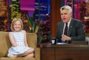 Dakota Fanning ospite del The Tonight Show, 19 aprile 2004