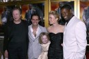 Dakota Fanning, Christopher Walken, Marc Anthony, Radha Mitchell e Denzel Washington, premiere Man on Fire, 18 apr 2004