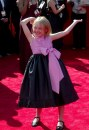 Dakota Fanning sul red carpet del 55th Annual Primetime Emmy Awards, 21 set 2003