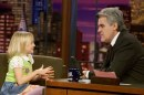 Dakota Fanning ospite al The Tonight Show, 30 gen 2002