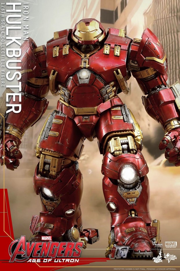 The Avengers 2 nuova action figure di Hulkbuster by Hot Toys (1)