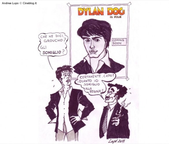 Dylan Dog di Andrea Lupo