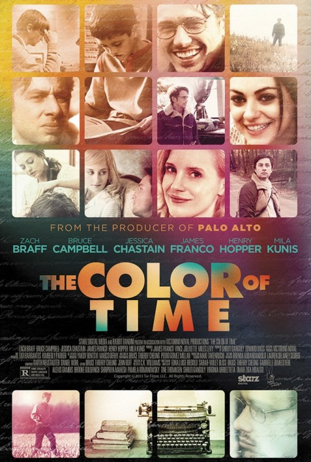 The Color of Time trailer e poster del biopic con James Franco e Jessica Chastain (2)
