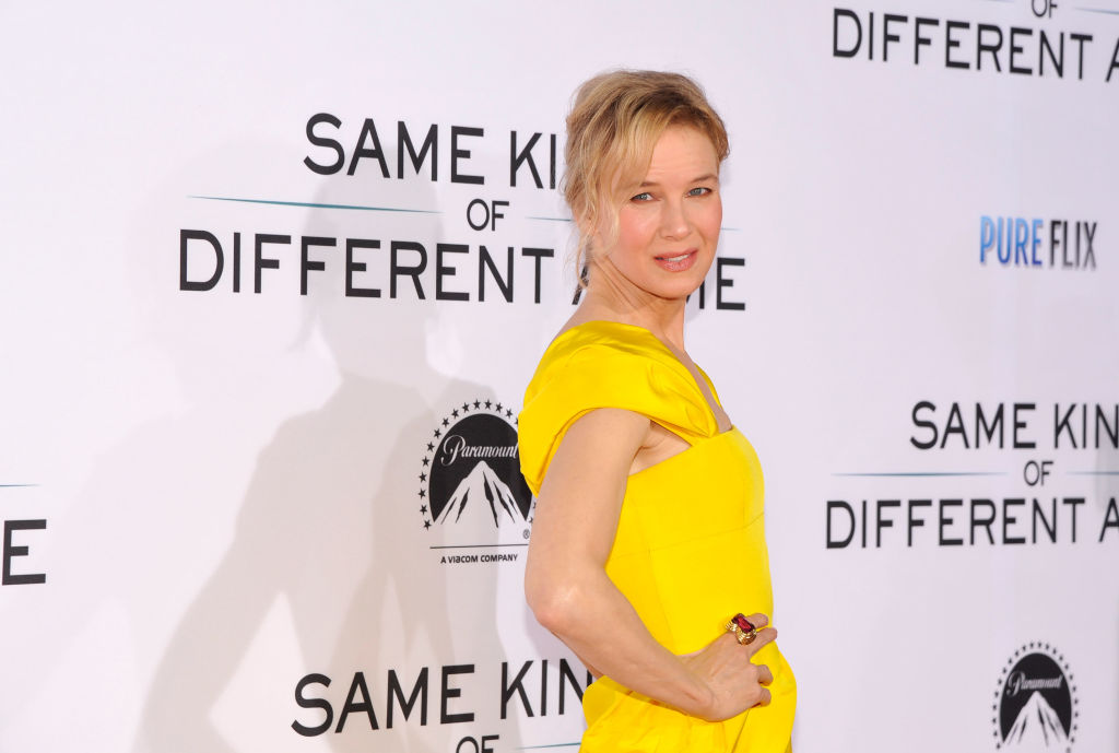 LOS ANGELES, CA - OCTOBER 12:  Actress Renee Zellweger attends Same Kind Of Different As Me Premiere on October 12, 2017 in Los Angeles, California.  (Photo by John Sciulli/Getty Images for Pure Flix/Paramount)