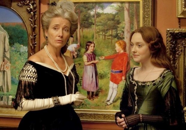 Effie Gray trailer del dramma romantico con Emma Thompson e Dakota Fanning (2)