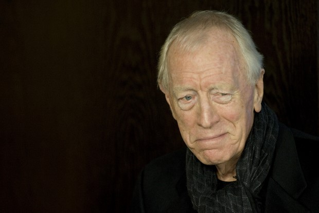 Swedish-French actor Max von Sydow leave