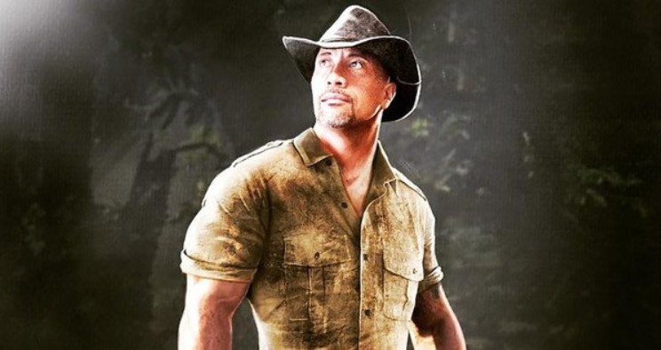 Jumanji 2: nuovo video dal set con The Rock