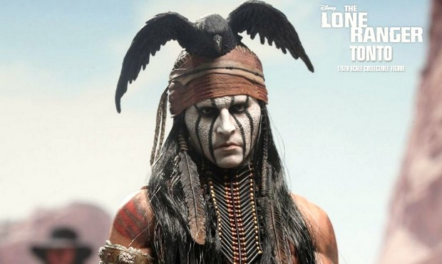 The Lone Ranger: l'action figure di Johnny Depp nei panni di Tonto