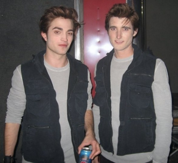 5. Robert Pattinson & Paul Darnell in Twilight