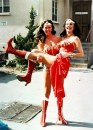 13. Jeannie Epper & Lynda Carter in Wonder Woman