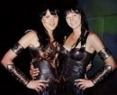 2. Lucy Lawless & Zoe Bell in Xena