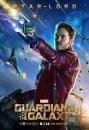 Guardians of the Galaxy: 4 character poster del cinecomic Marvel