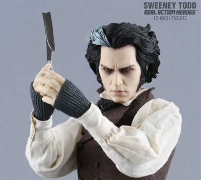 L'action figure di Sweeney Todd