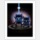 Movie Cat, Tron Poster © Brian Kirk