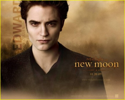 new moon edward wallpaper