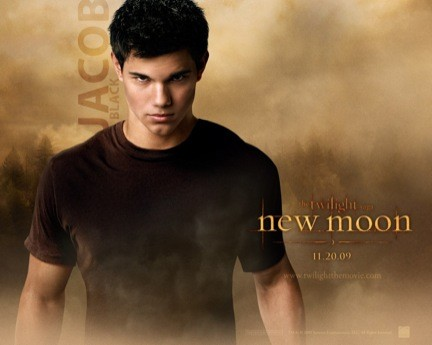 new moon jacob wallpaper