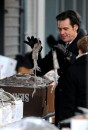 Nuove foto di Jim Carrey dal set di Mr Popper's Penguins