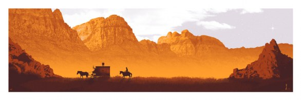 Oscar 2013 - For Your Consideration - Poster Django Unchained by Mark Englert