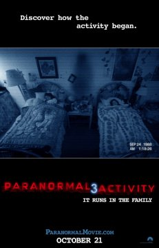 Paranormal Activity 3: nuovo poster