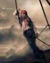 Pirati dei Caraibi: Johnny Depp e Patti Smith fotografati da Annie Leibovitz
