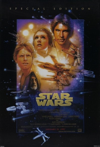 Star wars - guerre stellari special edition poster