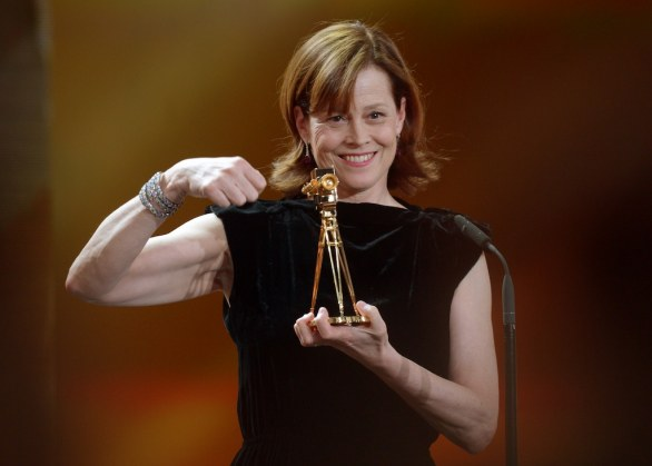 Sigourney Weaver, best actress international 48th Golden Camera awards, Berlin 2 feb 2013