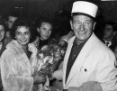 Sophia Loren e John Wayne, Timbuctù (Legend of the Lost), 07 mar 1957