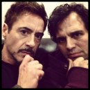 The Avengers 2 - foto ufficiali dal set con Robert Downey Jr. e Mark Ruffalo